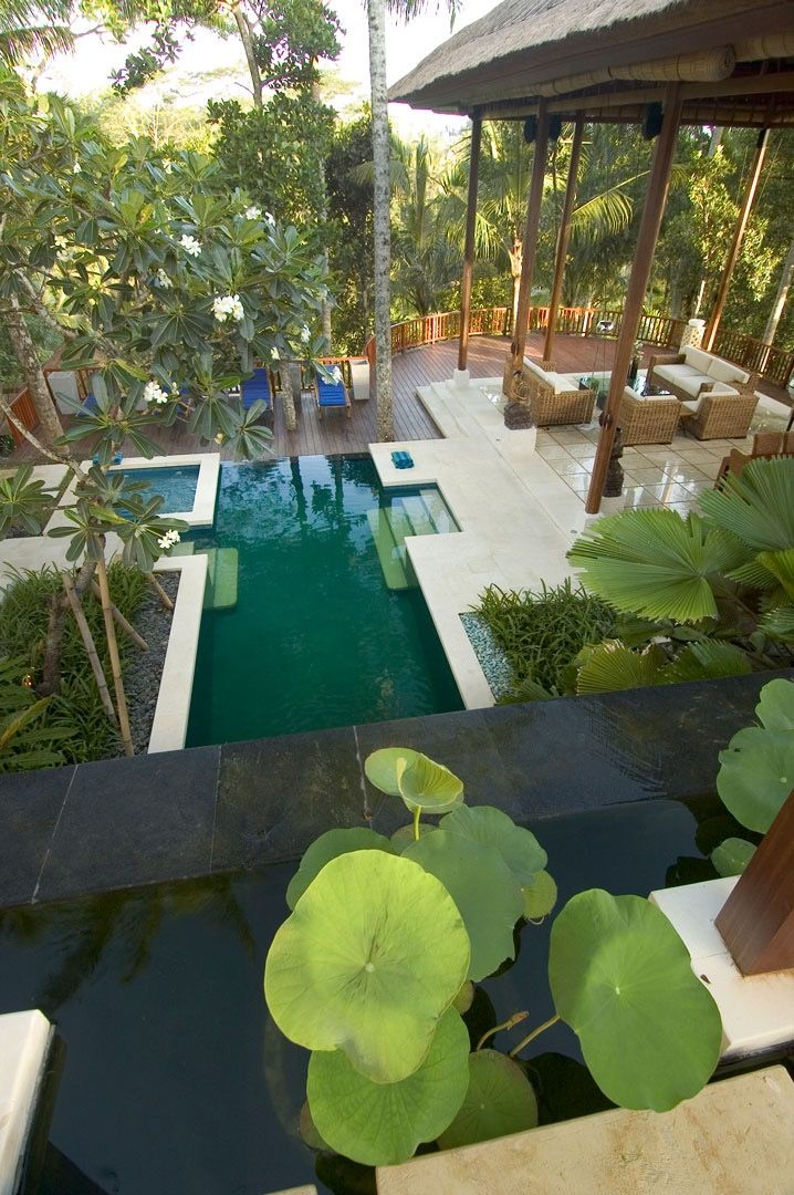 gorgeous ubud, bali 3 bedrooms private villa. || www.affittabali