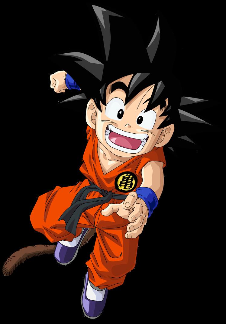 Kid Goku Vector Render Extraction Png By Tattydesigns On Deviantart Kid Goku Goku Dragon Ball Tattoo