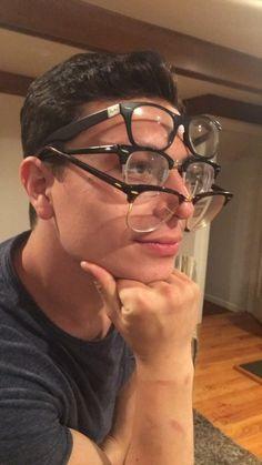 Wenn Leute Dich zum x-ten Mal fragen, ob Du schon immer eine Brille getragen…