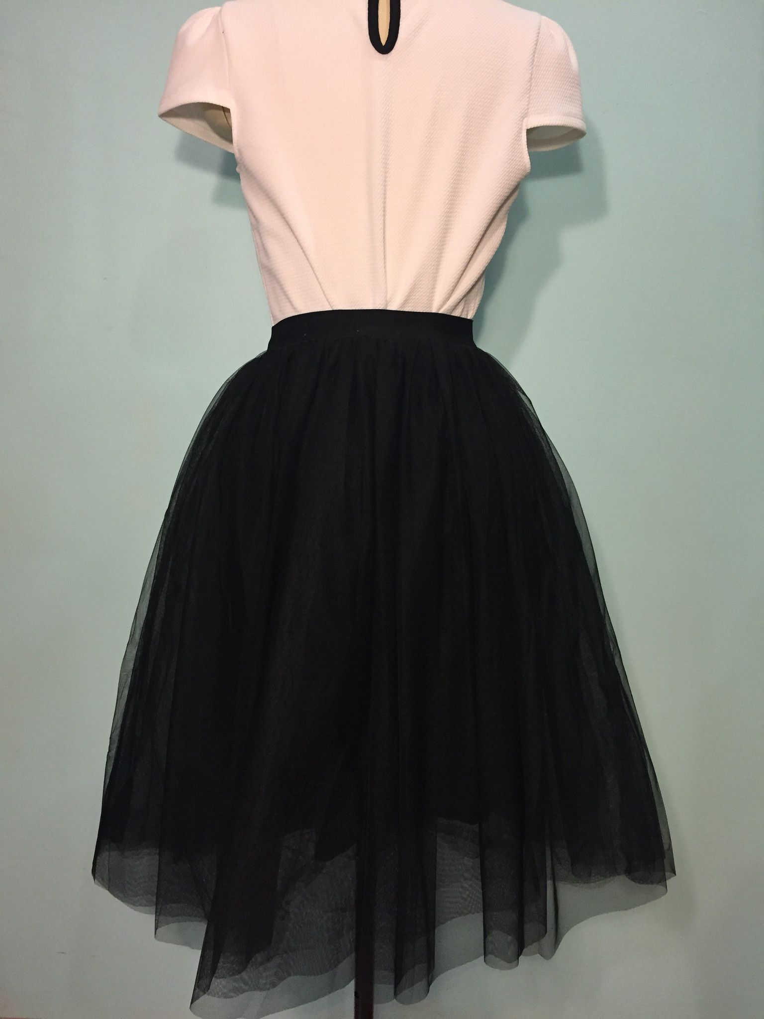 Tulle tulle tulle so perfect for dressy times and we love wearing