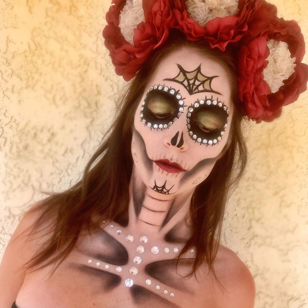 halloween creepycutemua13 dayofthedead