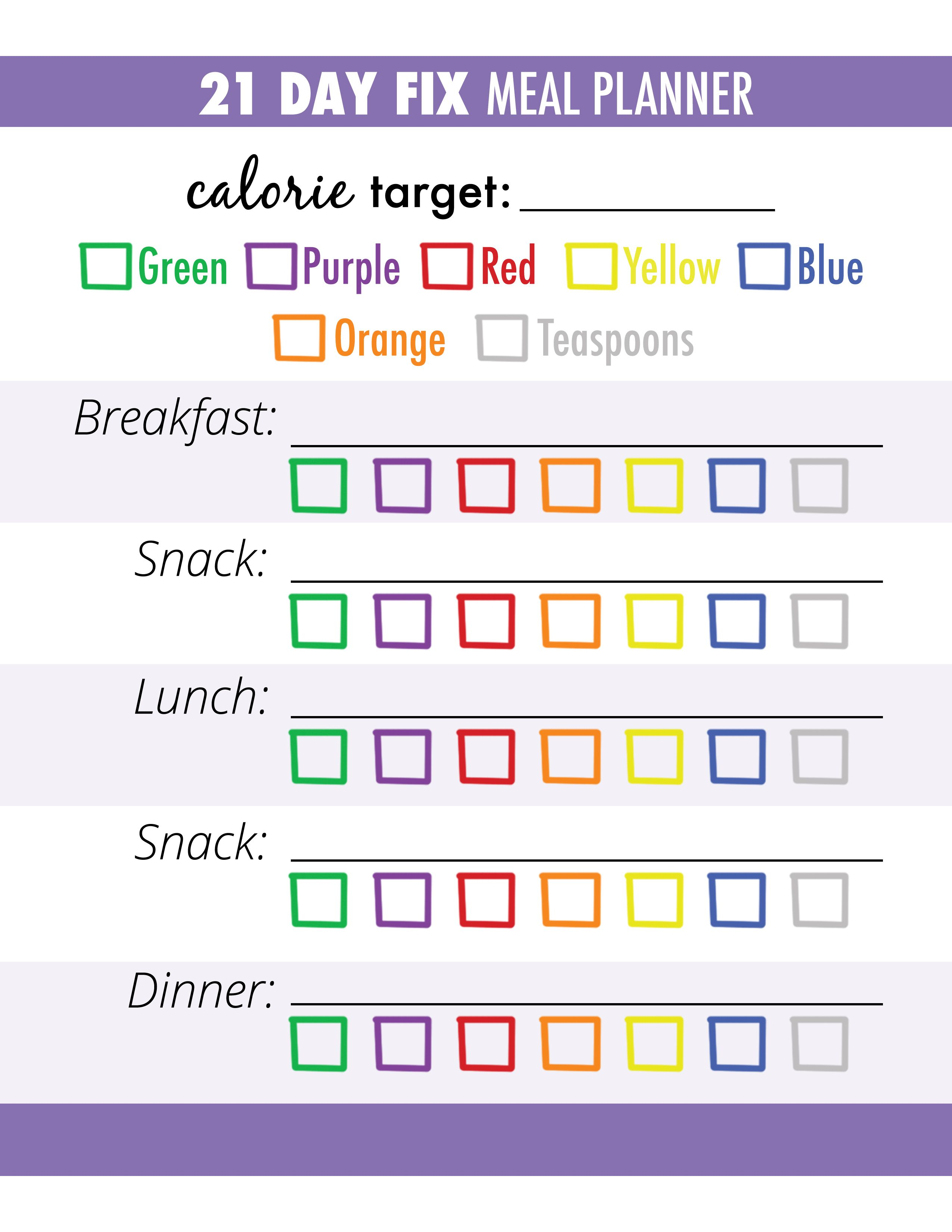 Follow these 3 steps for successful meal planning: bitly.com/21DayFixMeals  health // fitness // fitspo // workout // motivation // exercise // 21 Day  Fix ...