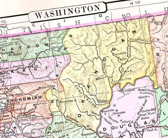 Dc USA Map. The Great Northern Route US2 ROAD TRIP USA Plan A ...