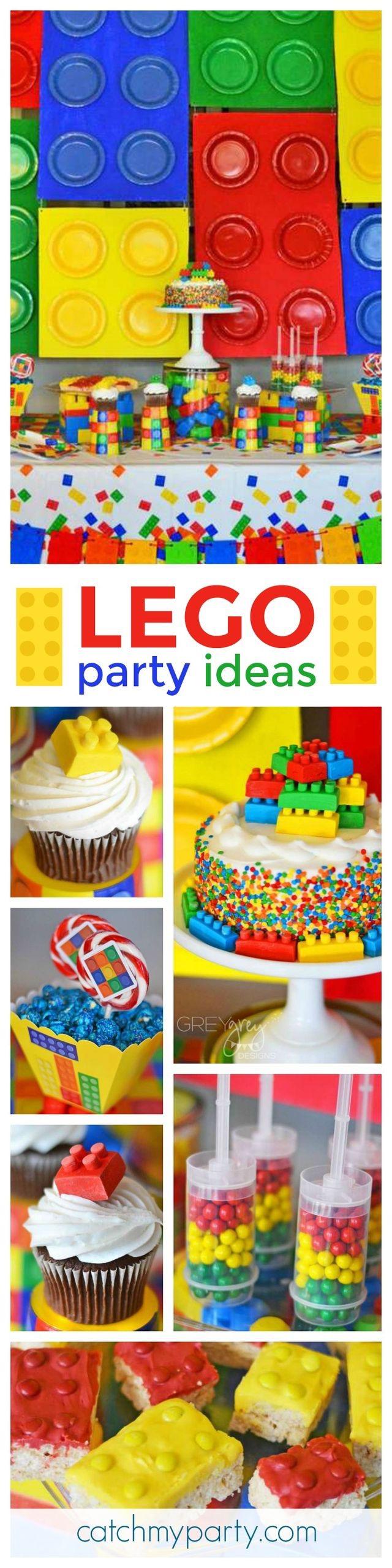 Pin By Eva Lazarova On Cakes Party Ideas Lego Birthday Party Lego Party Lego Birthday
