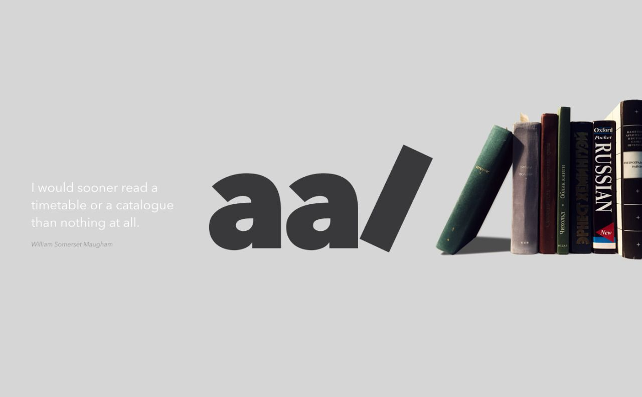 The Alvar Aalto Library sign | Project by Kotta Rainen Follow us on Instagram: @betype