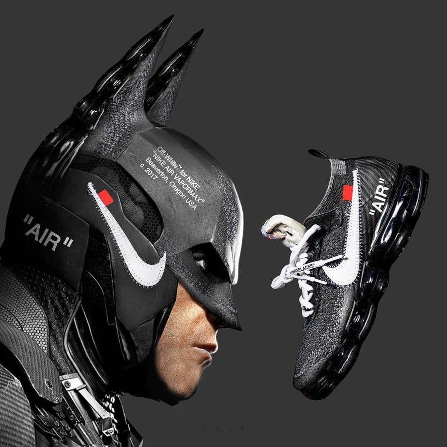 Batman x Nike Air Vapormax 'Off White' | Chaussure homme