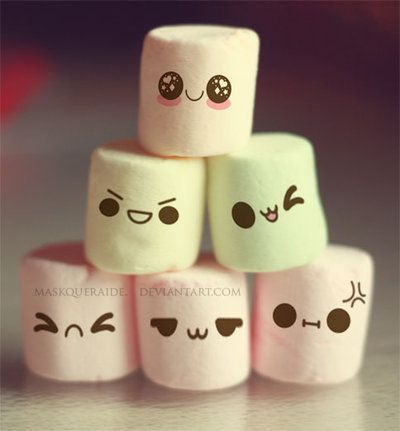 Beautiful And Funny Marshmallows Cute Marshmallows Marshmallow Images Cute Emoji Wallpaper