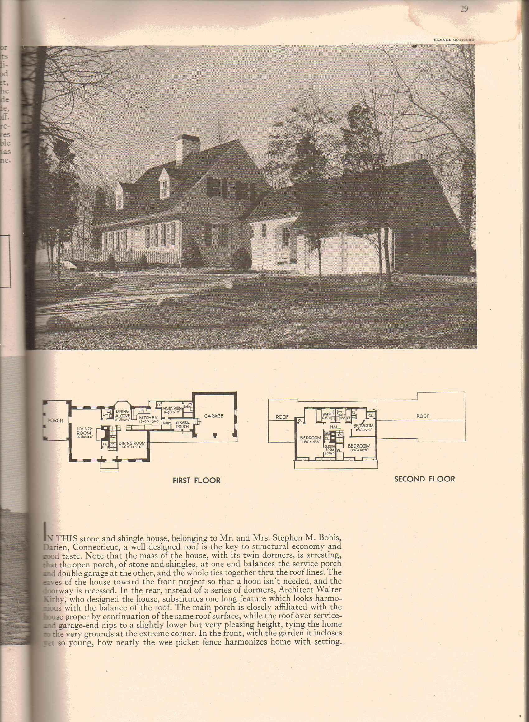 Original 1938 Cape Cod Floor Plan And Design Floor Plans Vintage House Plans Colonial House Plans