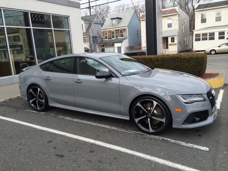 Picked Up My Nardo Grey Rs7 My True Love Nardo Grey Nardo Audi