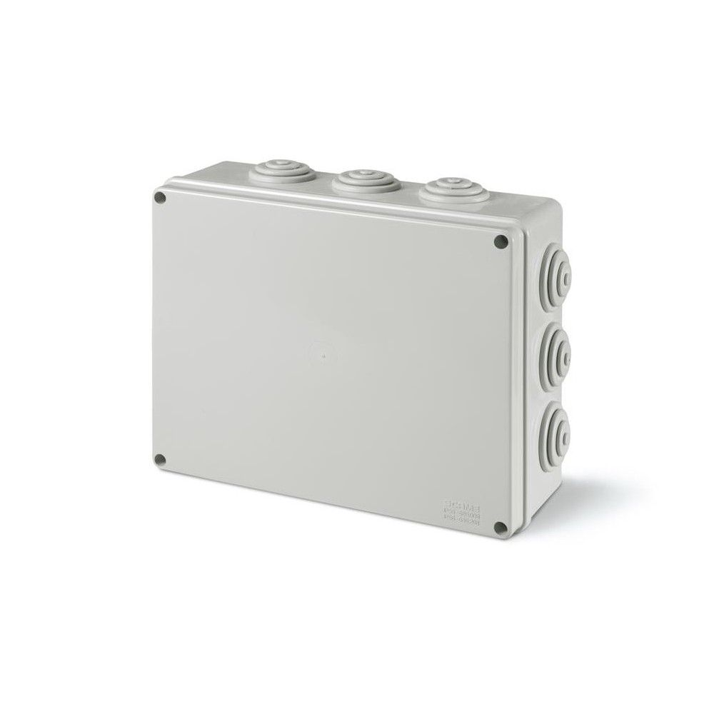 SCAME surface junction box with cable sleeves 150x110x70