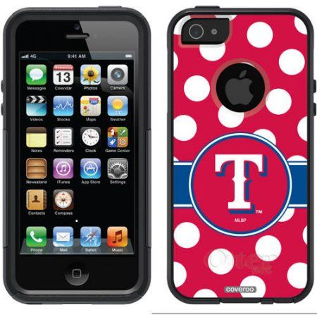 L.A. Angels of Anaheim A Design on OtterBox Commuter Series Case for Apple iPhone 5/5s, Multicolor
