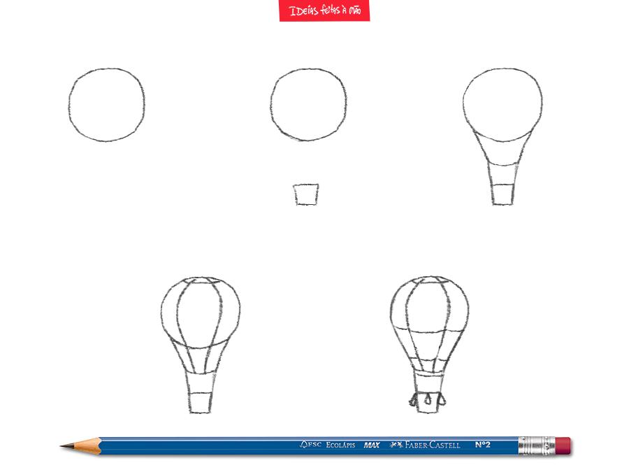 Para a criatividade do seu filho voar tão alto quanto este balão. #IdeiasFeitasaMao