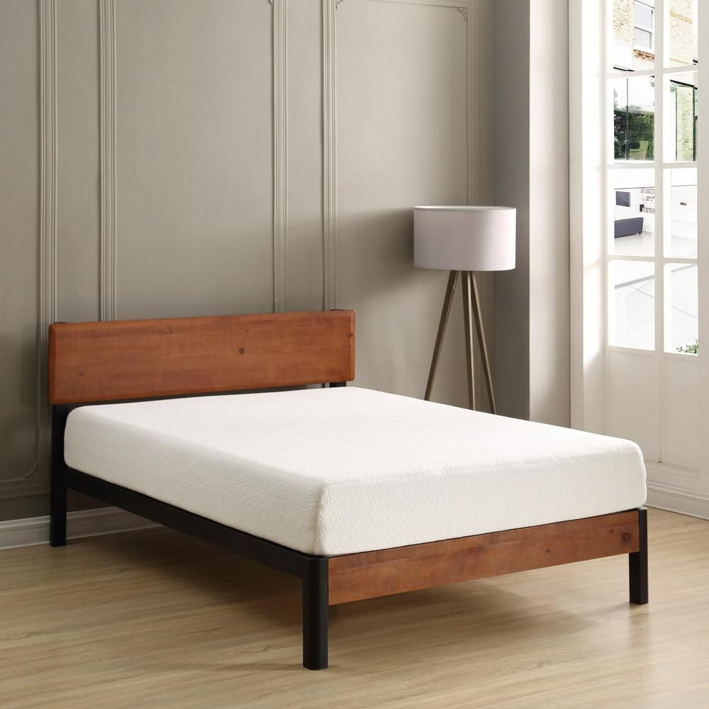 Sleep Options Classic Cal King Size 8 In Memory Foam Mattress