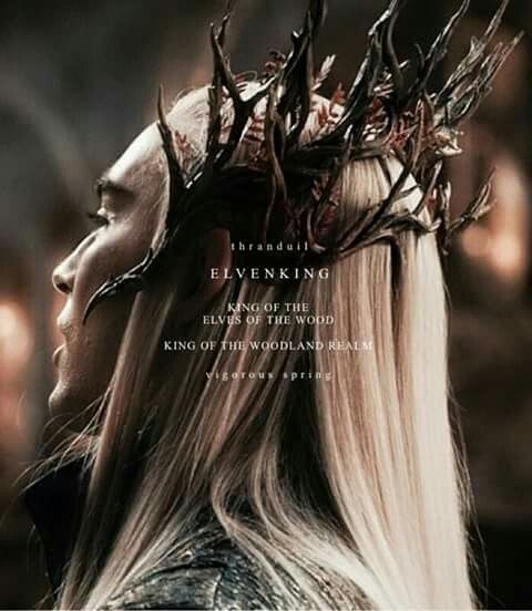 LEE PACE AS ELVENKING OF THE MIRKWOODLAND ; THRANDUIL (IN THE HOBBIT TRILOGY)