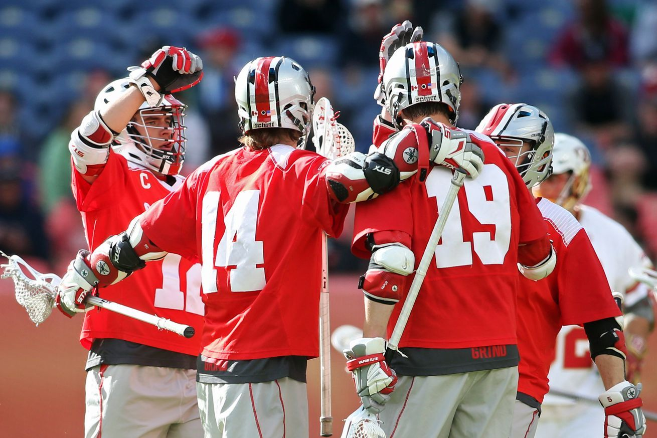Men's lacrosse posts 11goal win over Detroit Ohio state