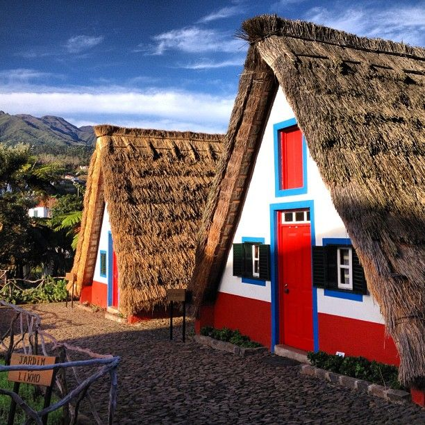 Casas de Santana, Madeira, Portugal Photo by