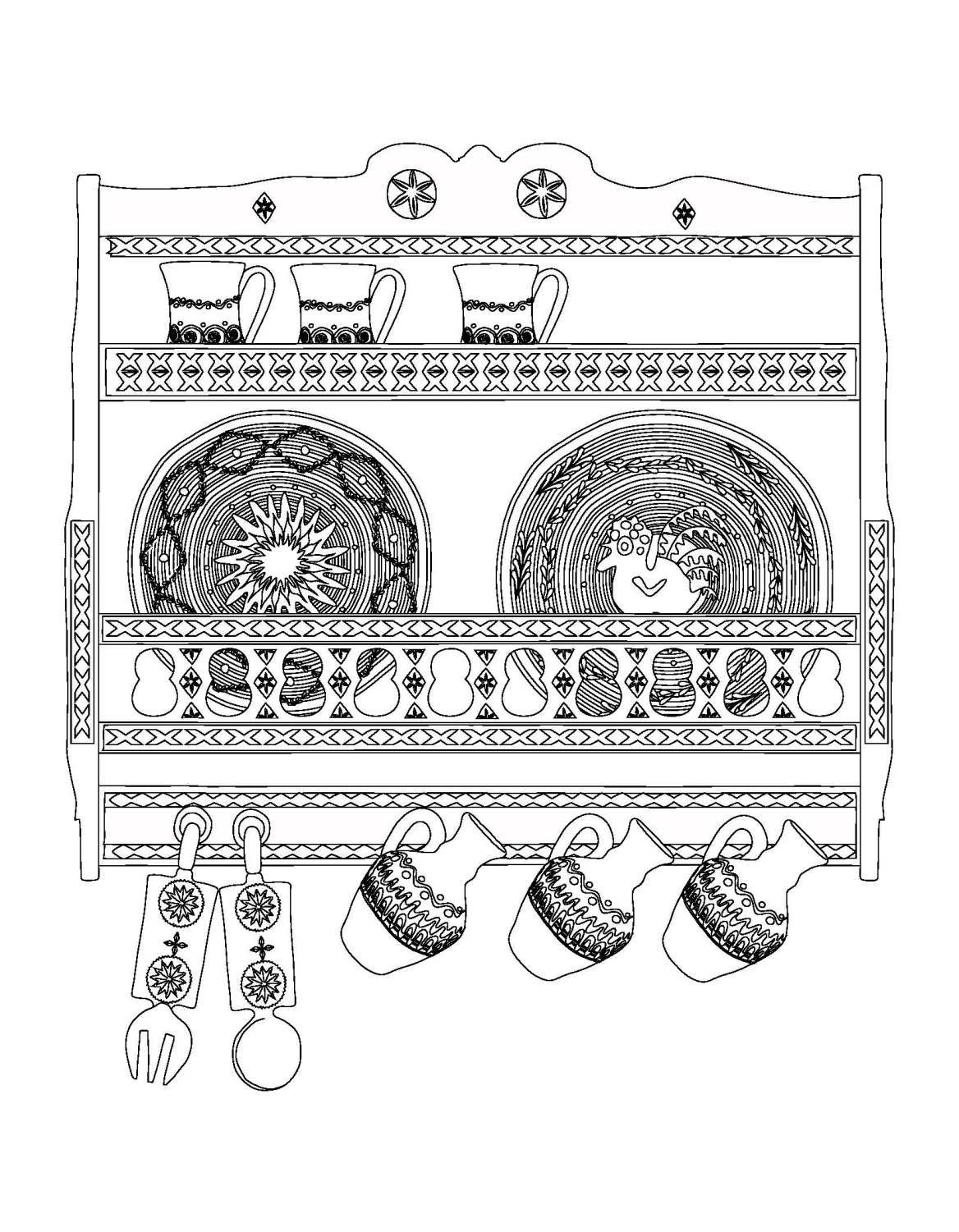 De Colorat Romania Decolorat Coloringpages Drawings