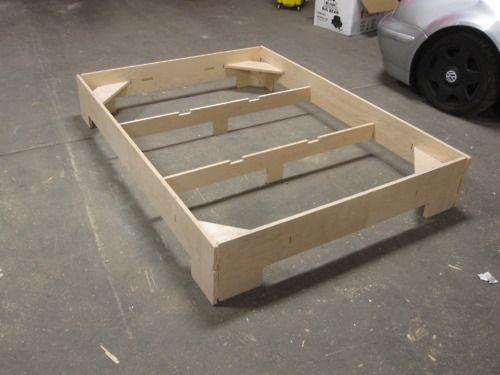 Flat Pack King Size Bed Frame