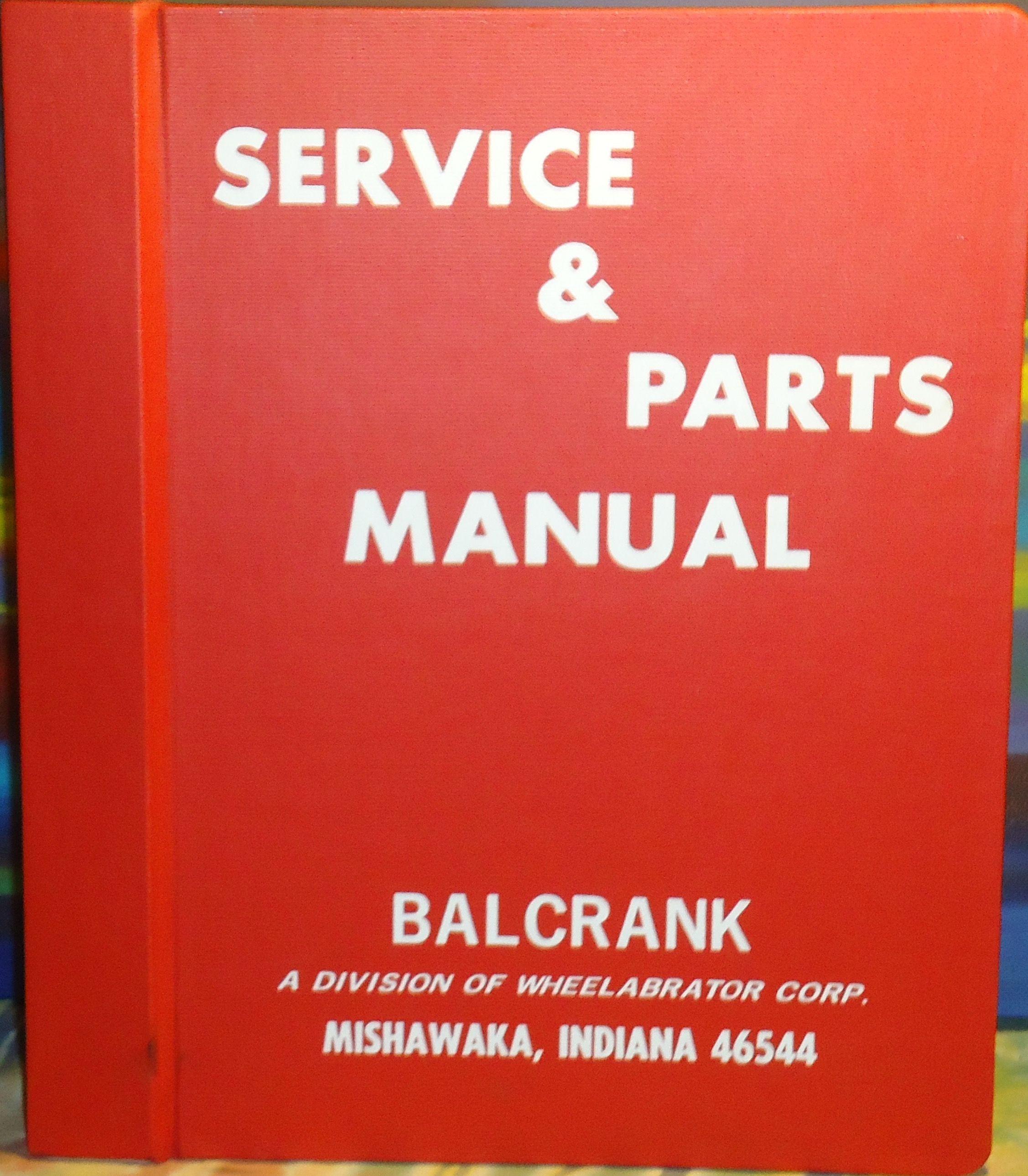 Service & Parts Manual