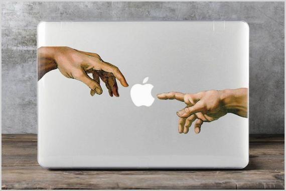 Michelangelo Macbook Air 13 2018 Case Macbook Pro 15 Case Art | Etsy