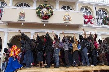 La movilización más grande de la historia del EZLN