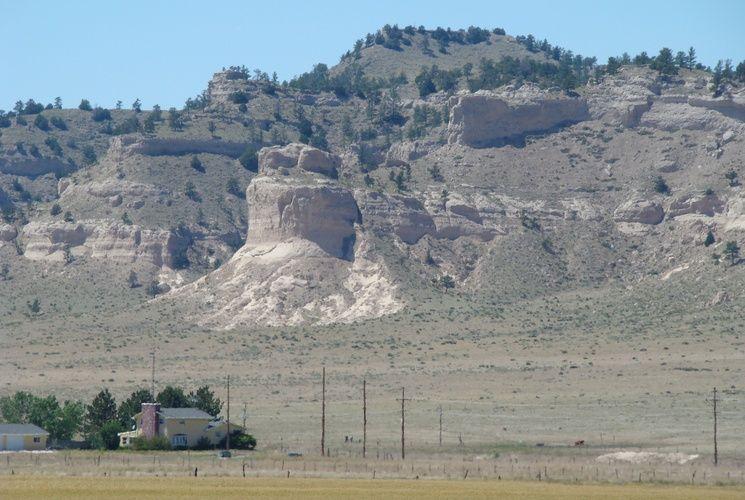 Hogback Mountain is a peak near Scottsbluff, Nebraska