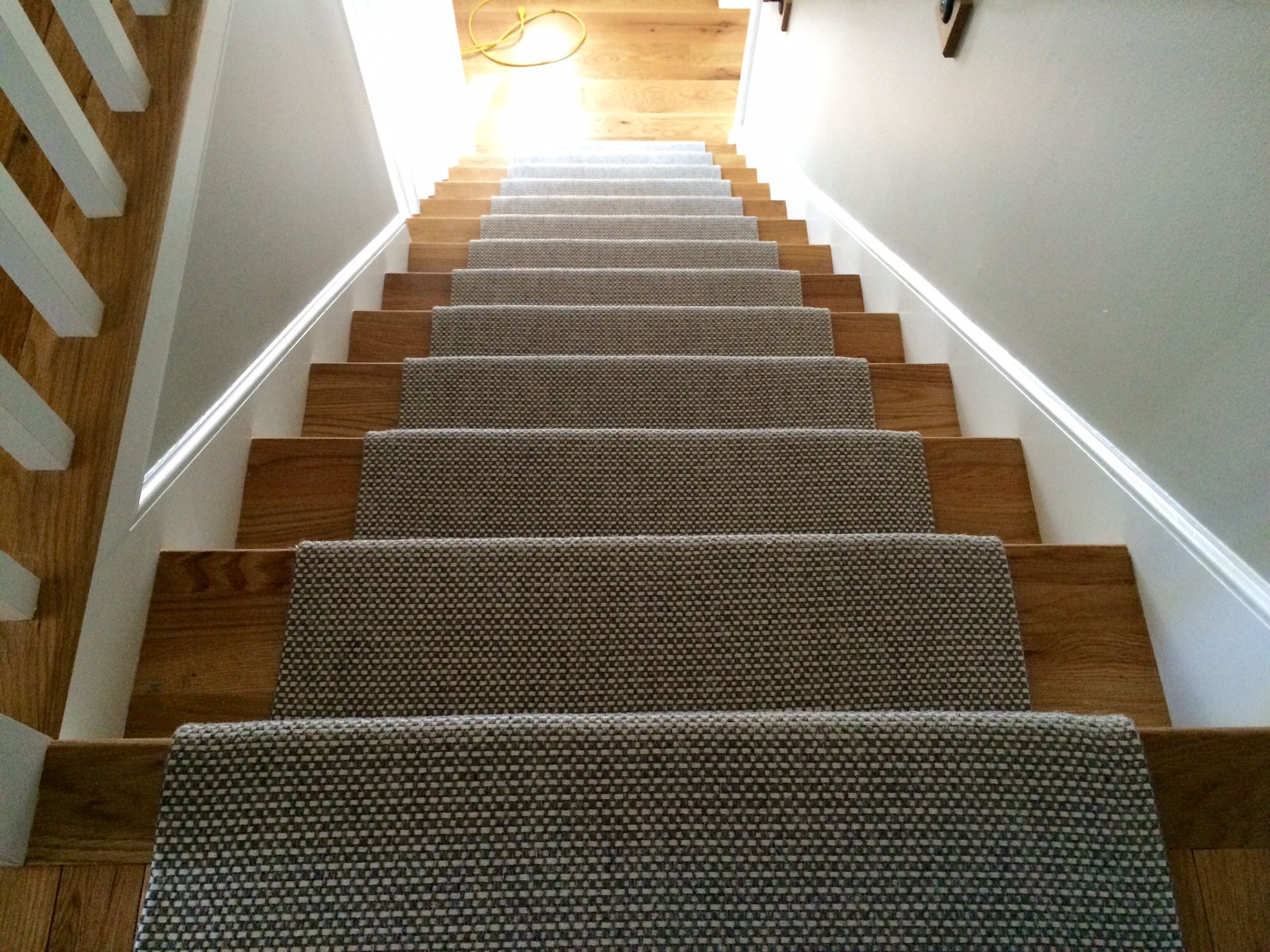 Incroyable Check Out This Merida Studio Flat Woven #wool #stair #runner That We  Fabricated Using A Fold And Stick Method.