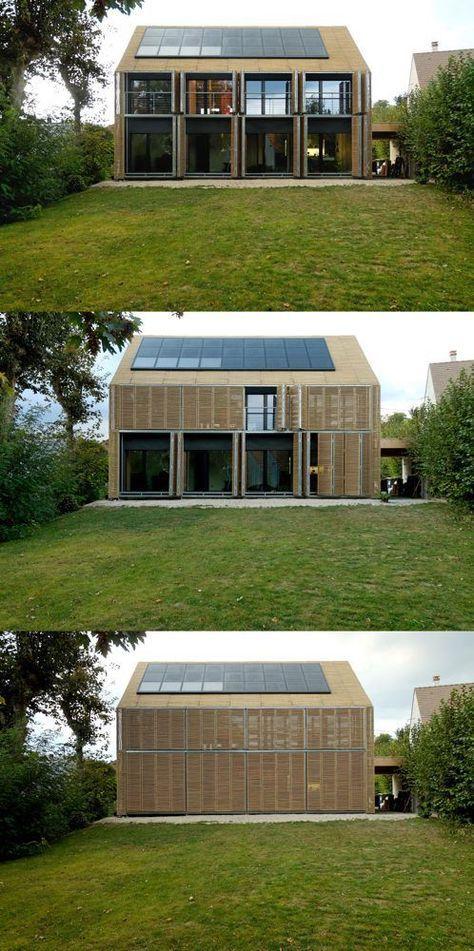 passive house bessancourt france karawitz architecture buildings maison maison. Black Bedroom Furniture Sets. Home Design Ideas