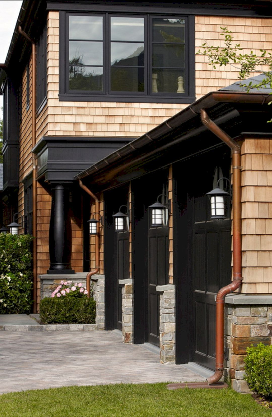 Make Your Home Awesome With Our 25 Extraordinary Black House Exterior Ideas Black House Exterior Exterior House Colors House Exterior