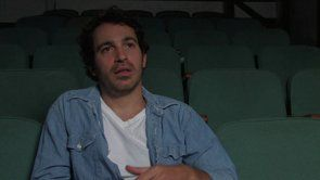 Chris Messina on auditioning for Woody Allen www.showingupmovie.com