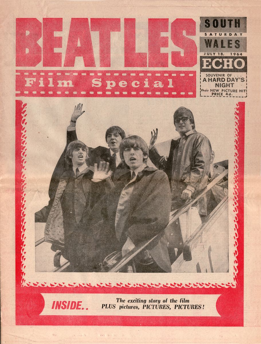 The South Wales Echo, Saturday, July 18, 1964 — Beatles Film Special