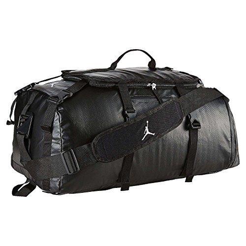 98f1b4e37cd3 Nike Air Jordan Jumpman Black Duffle Gym Bag BA8052-010