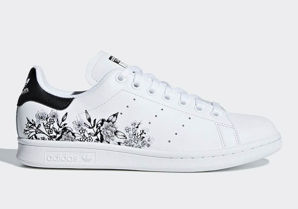 adidas Stan Smith Floral Print BC0257 Available Now | Stan