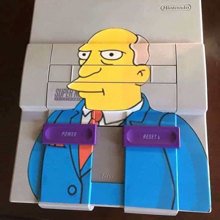 On instagram by pirsgrylls  #retrogames #microhobbit (o)  http://ift.tt/1TYlRSu  #snes #nintendo #supernintendo #simpson #retrogaming  #vintage #toys #collection #collector #painting #paint #swag #art #artoftheday