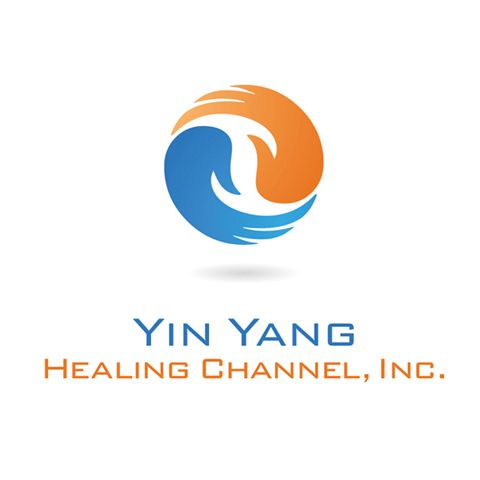 yin yang logo design logo design corporate identity healing rh pinterest com Yin Yang Abstract Art Yin Yang Tattoo Designs