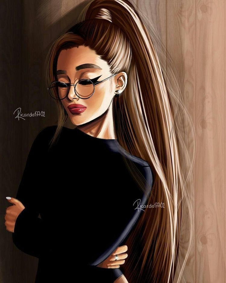 Pin by anushka sharma on Girly m Ariana grande drawings