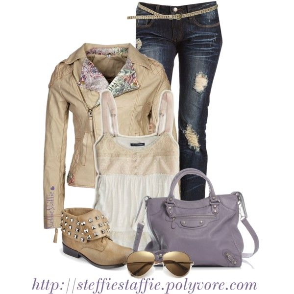 Nude With A Hint Of Lavender, created by steffiestaffie on Polyvore
