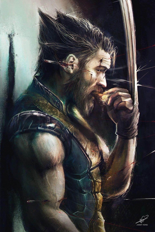 Tom Hardy as Wolverine - Fan Art by Jimmy Vong | Awesome Fan ...