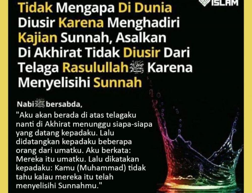 MEREKA YANG DIUSIR DARI TELAGA NABI Sahabat, Islam