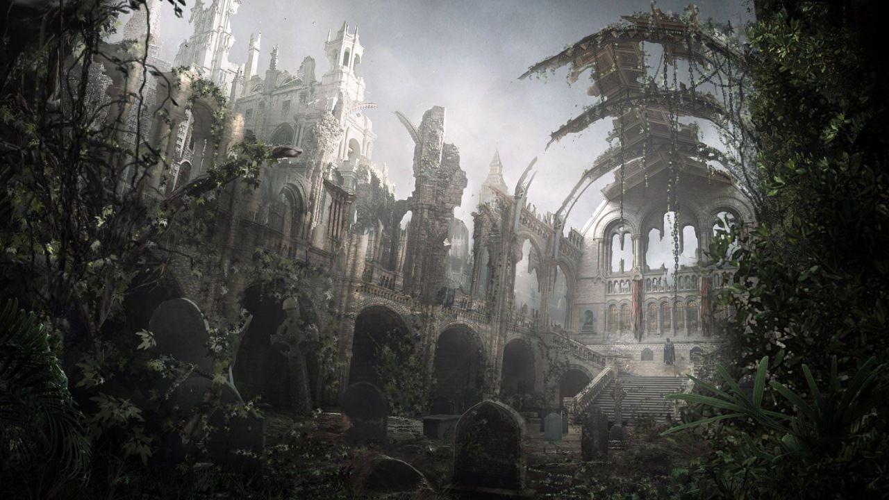 Древнее царство. Руины и развалины. Фэнтези картинки из ...