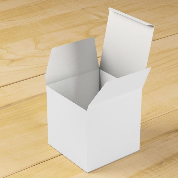 Solid White Party Favor Boxes