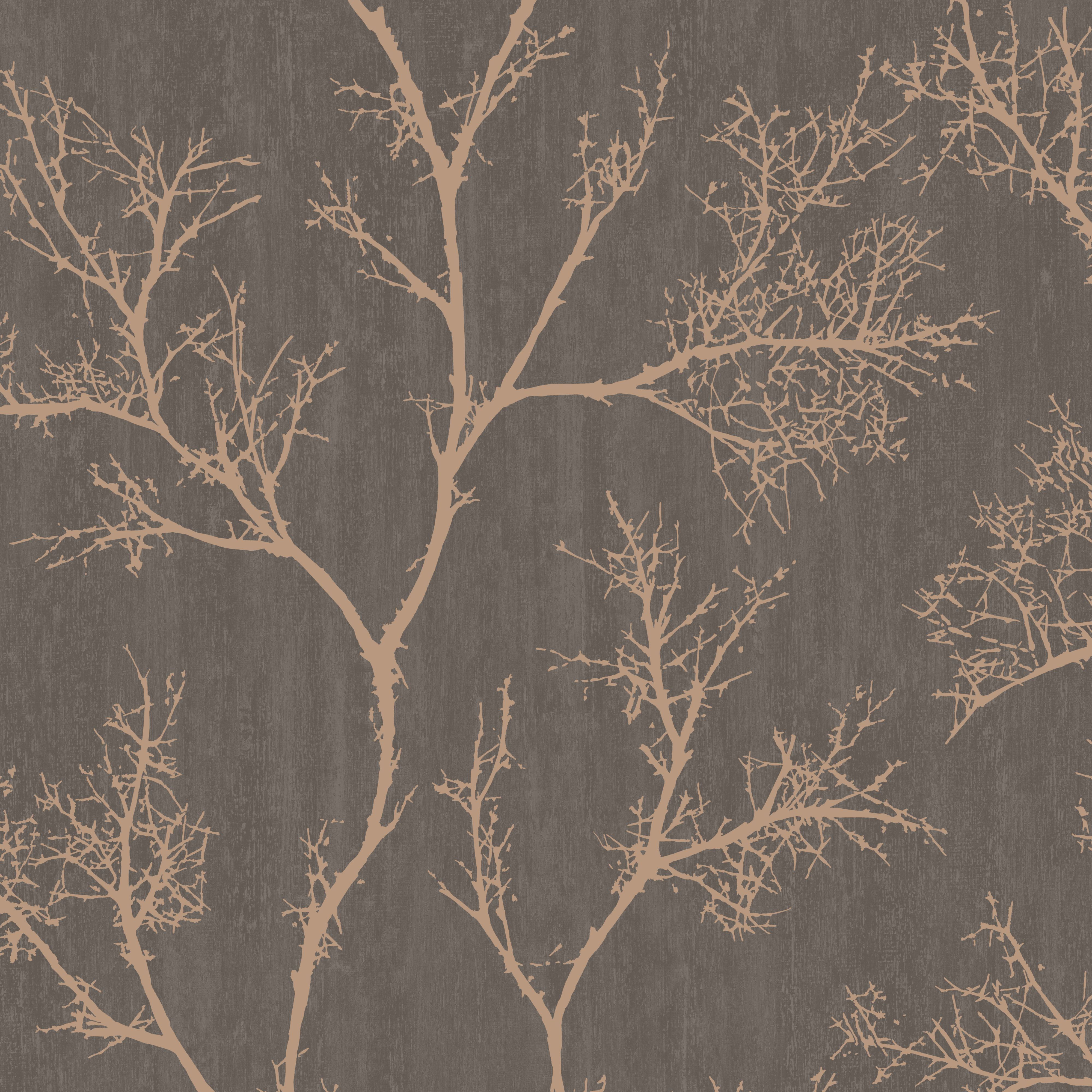 living room wallpaper bq large wall decor ideas for brown gold icy trees departments diy at b q home