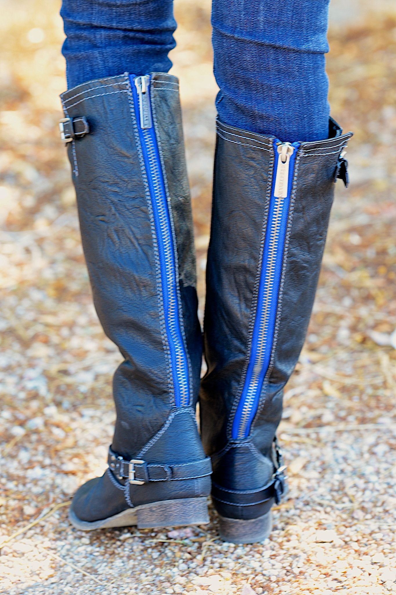 """To Die For Black Boots from Closet Candy Boutique - Promo code """"repashley"""" for 10% OFF + FREE shipping!!!"""