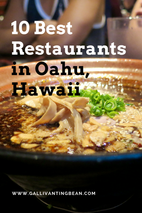 Must Eats in Oahu, Hawaii