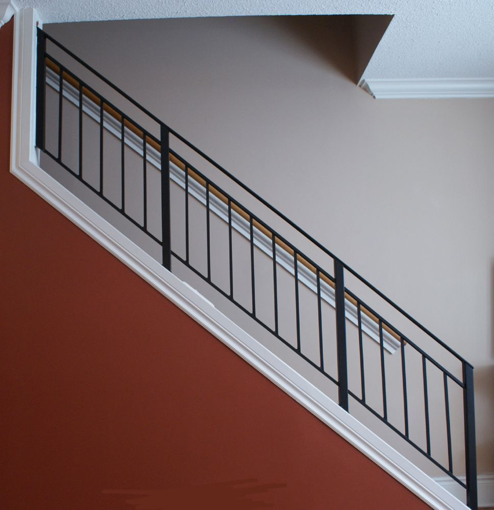 40 Trending Modern Staircase Design Ideas And Stair Handrails: 90 Interior Stairs Railing Designs #staircaserailings