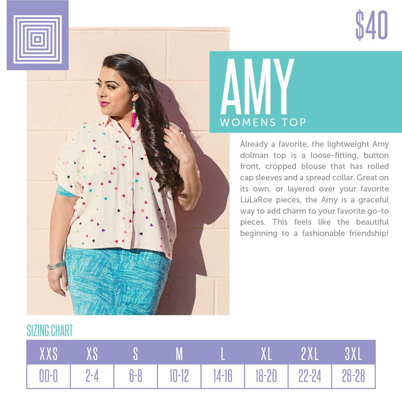 Lularoe Amy Size Chart Pflag