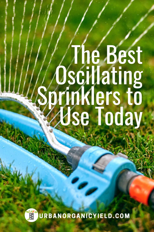 Diy Sprinkler System Using The Best Oscillating Sprinkler For Your Lawn In 2020 Best Sprinkler Oscillating Sprinkler Sprinkler