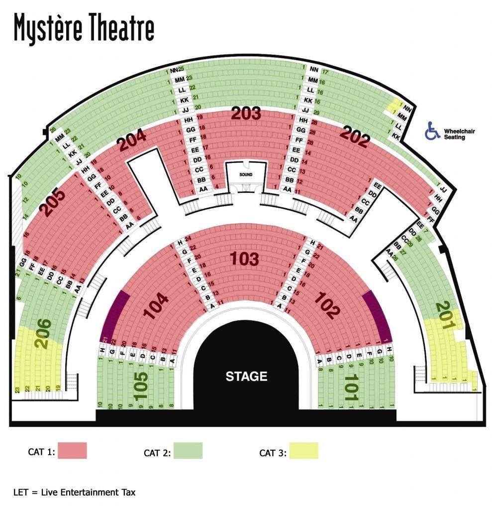 Cirque Du Soleil Orlando Seating Chart