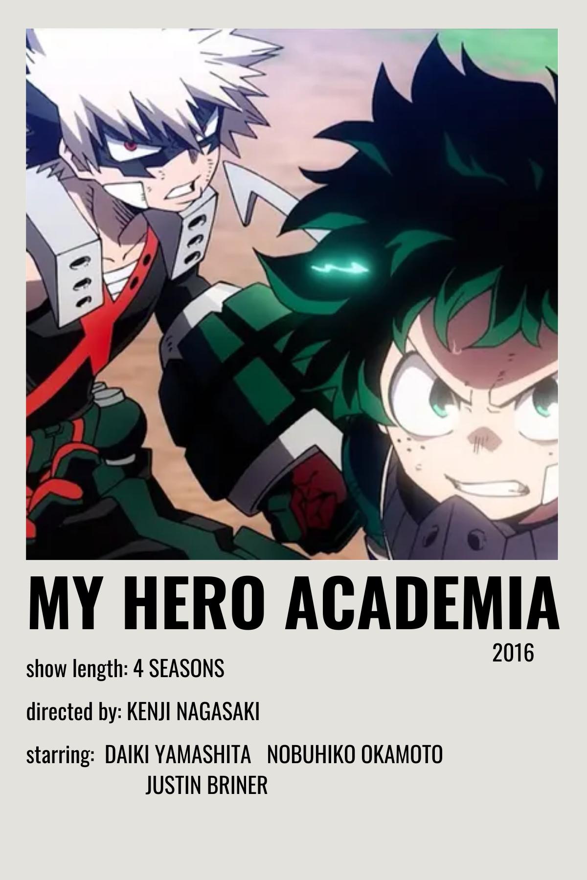 my hero academia movie poster