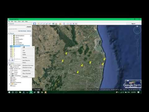 How to get elevation from Google Earth using ArcGis